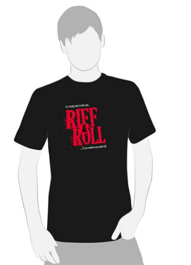 Camiseta Riff and Roll