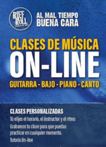 clases online riff and roll