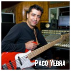 Clases de bajo On-line con Paco Yebra